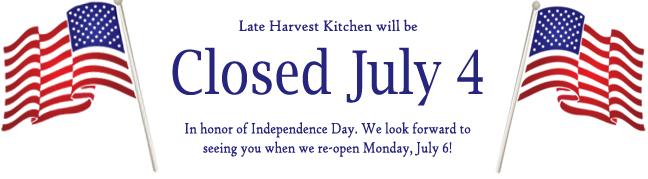 July 4 Closing