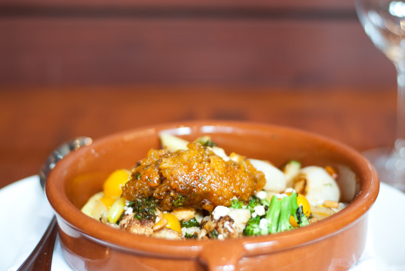 North African Vegetable Tagine